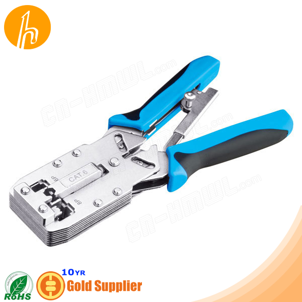 UTP STP Cat6 Cable lug Crimping Tool
