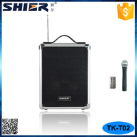 Good Sales FM Radio Recording Function Portable Speakers with Top Handle
