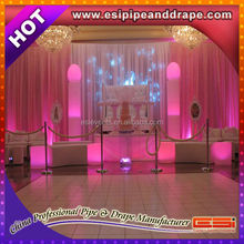 ESI factory price drape support for wedding background decoration