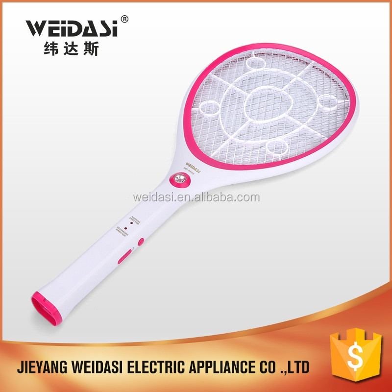 China Efficient Rechargeable Spider Catcher Electric Mosquito Killing Racket