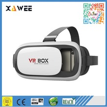 HOT Google cardboard VR BOX II 2.0 Version VR Virtual Reality 3D Glasses For 3.5 - 6.0 inch Smart phone+Bluetooth Controller 1.0