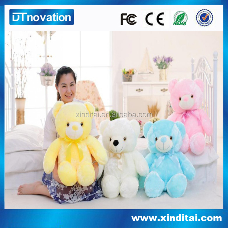 Popular toy for baby soft toys LED night light
