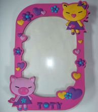 Custom PVC frame picture, 3D picture frame available