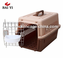 Durable different size pet flight dog crate for sale cheap
