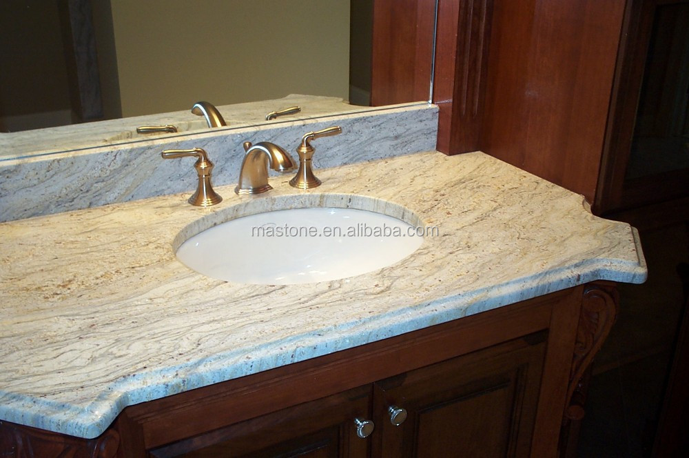 Granite Countertops Lowes : Pin Granite Table In Mediterranean Kitchen Islands Dining And on ...