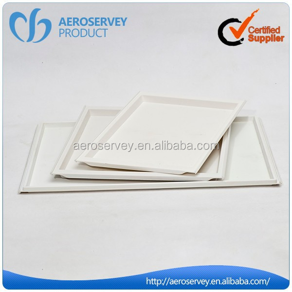 Unique design ABS plastic inflight product plastic fruit tray