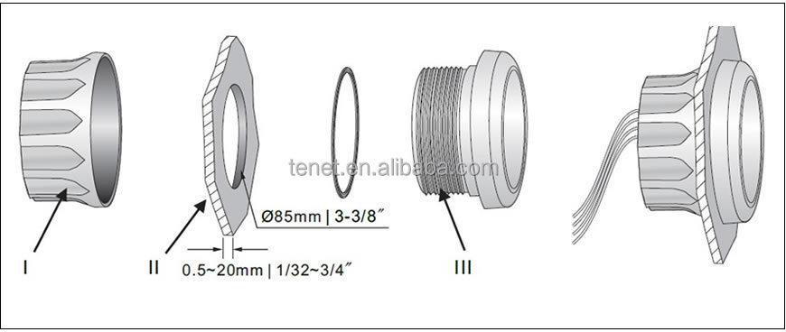 datcon tachometer diesel tachometer hour meter 24v