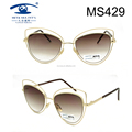 Beautiful Design Super Quality Women Metal Sunglasses (MS429)
