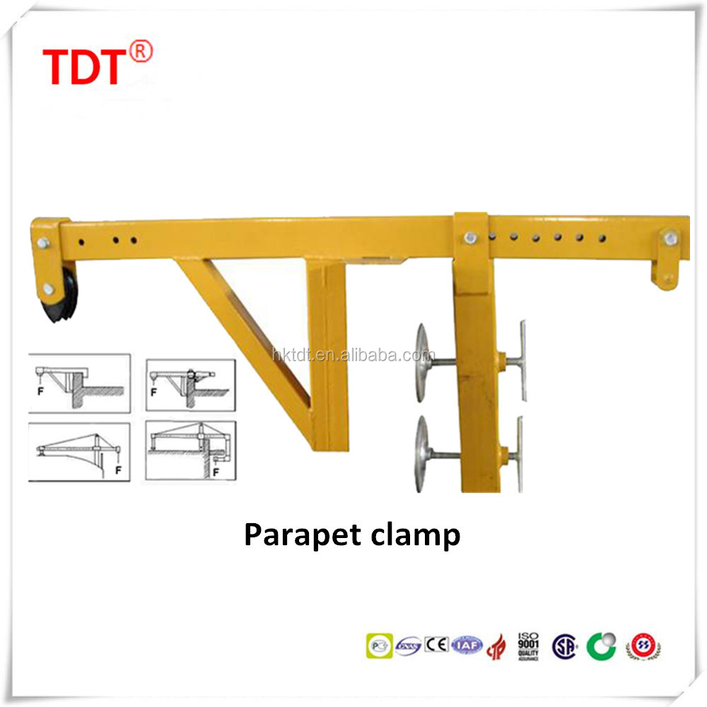 Suspension Mechanism for Suspended Platform