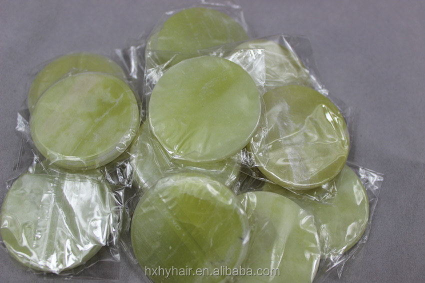 2015 New designed popular green jade stone for eyelash extension tools