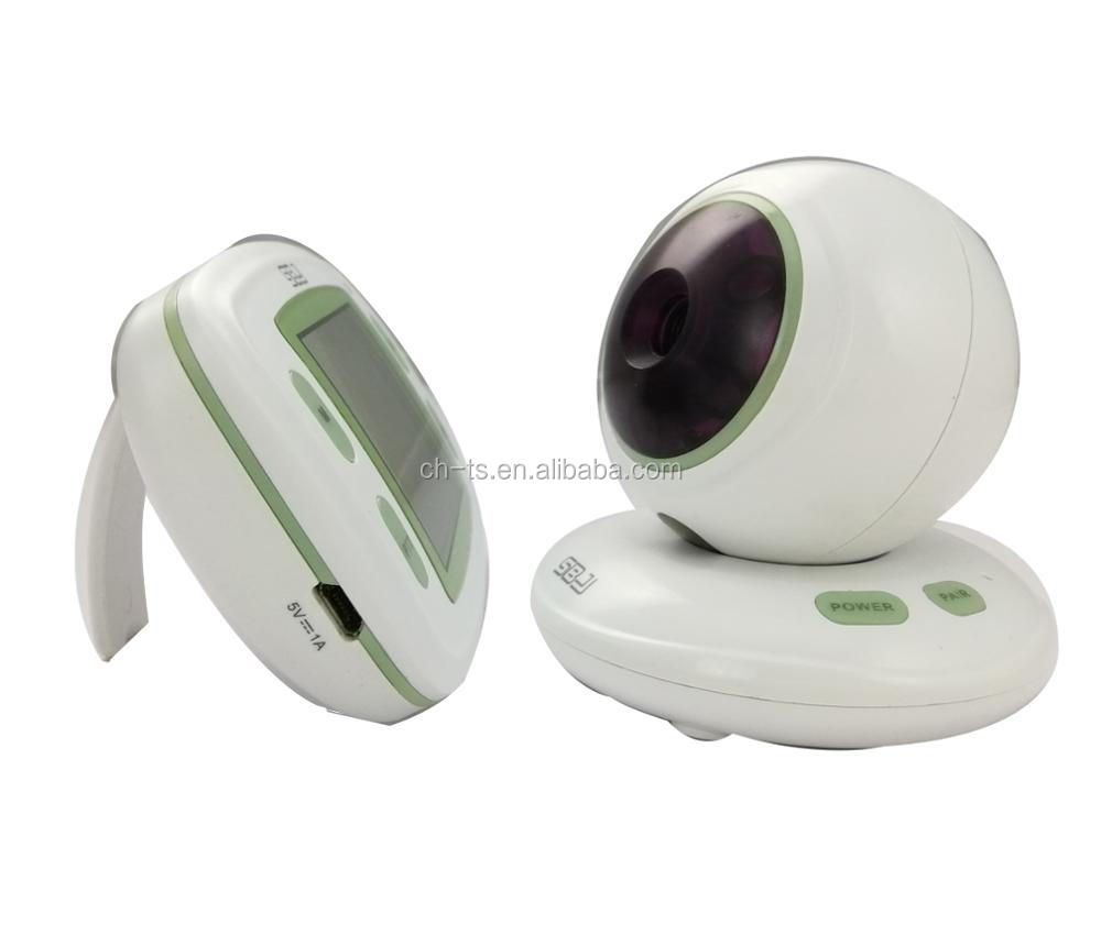 kids digital infrared night vision long rang security lens nanny  camera lcd baby monitor