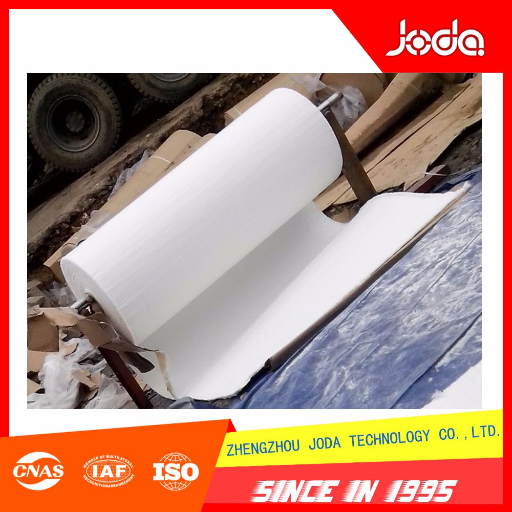 Silica aerogel insulation blanket for industry furnace