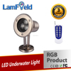 3W Outdoor Light RGB Pool Light RGB LED Underwater Lamp With RF Control