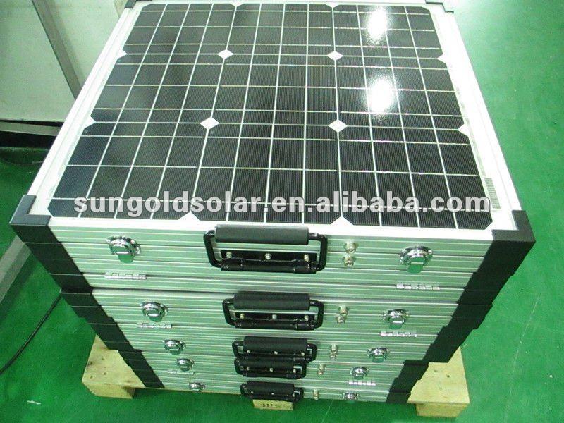 Kit Pannello Solare Da Campeggio : Solare portatile da campeggio pannello celle solari