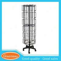 cheap wire rotating collapsible for sale wholesale greeting card display racks