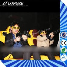 Most Attractive different seats Cinema house Minitype Interactive Children's Profit amazing 5d motion theater