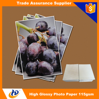 115gsm 135gsm Cheap Wholesale Inkjet Photo Paper Glossy Paper