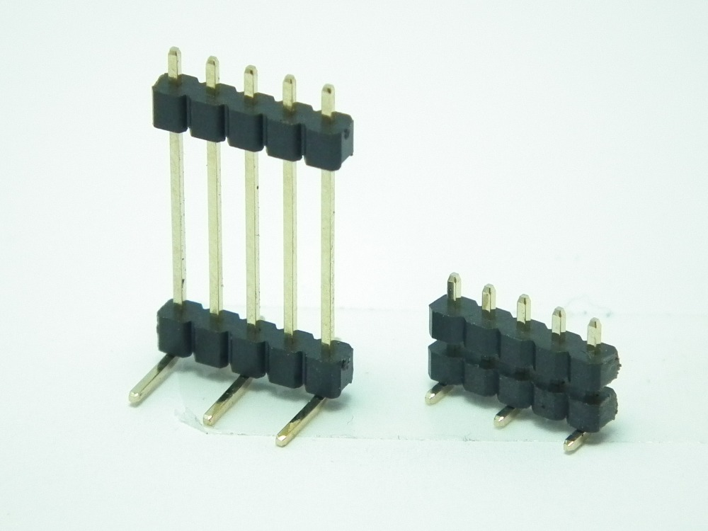 Custom 40 pin 2.54mm SMT SINGLE/DOUBLEROW Pin Header CONNECTOR