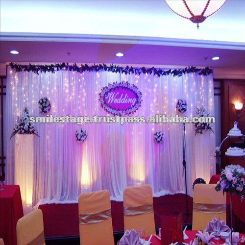 2013 RK telescopic pipe and drape backdrop- wedding tent