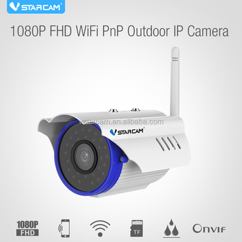 waterproof IP67 VStarcam long distance wireless security camera