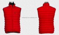 Ultra Light Men Padded Vest 100% Polyeter Insulation