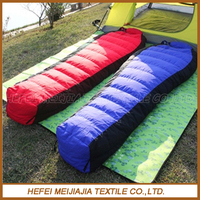 Wholesale high quality cheap goose down and duck down sleeping bag