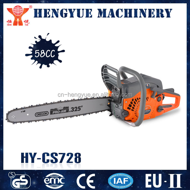 chainsaw oregon with green power petrol chain saw wood cutting machine brand names