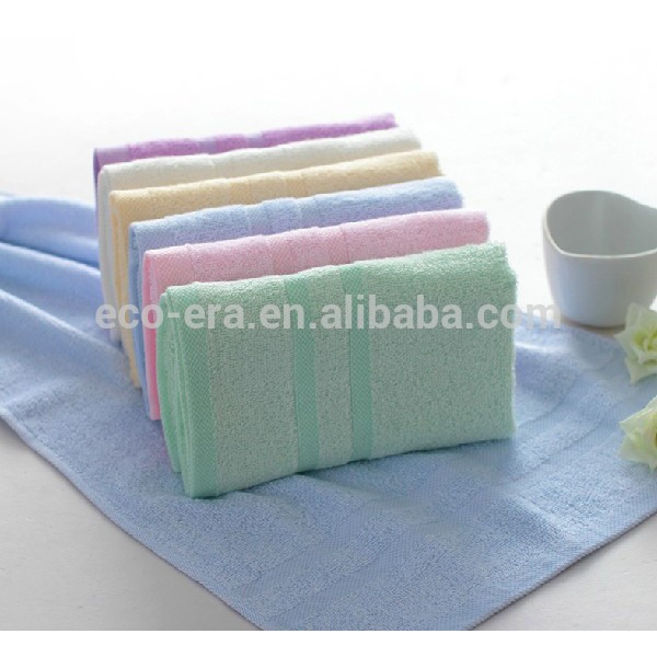 Bamboo Products Wholesale , 100% Bamboo Fiber Face Towel 34*34cm , Custom Hand Embroidery Design
