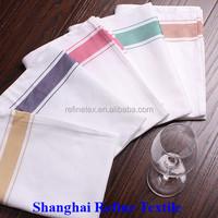 100% cotton woven white kitchen dish towels