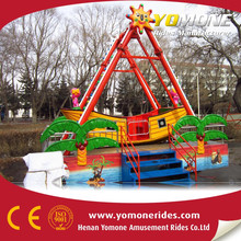 Amusement park colorful small mini pirate ship for sale