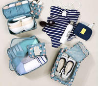 High quality portable underwear bag / folding Bra Storage / travel bra case