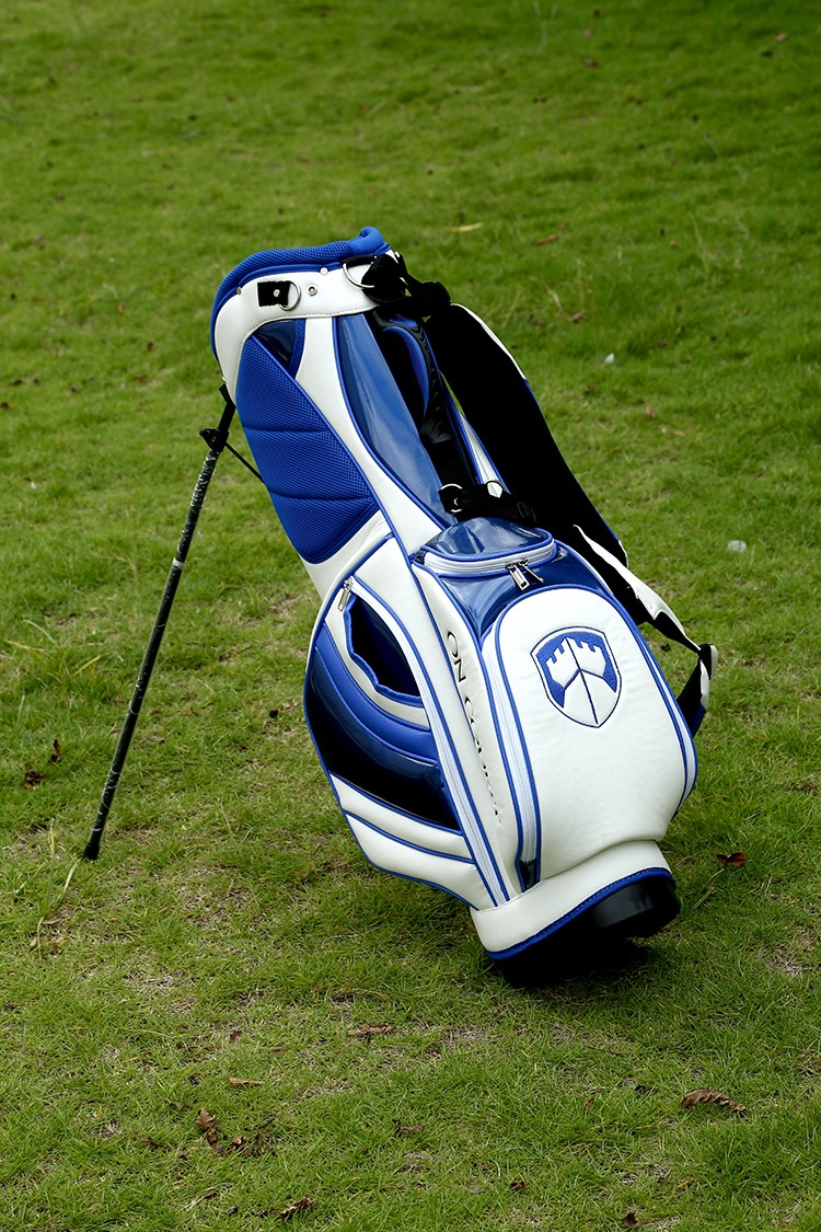 OEM/ODM custom leather golf stand bag With Factory Price
