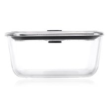 High Borosilicate Glass Reusable Kitchen Food Storage Containers with Lids