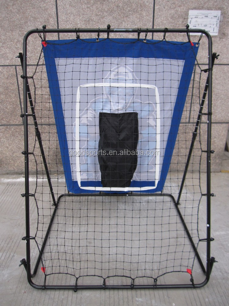 PITCH RETURN WITH POLYESTER TARGET
