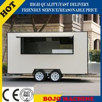 FV-30 mobile bbq food cart burger food truck electric food kiosk
