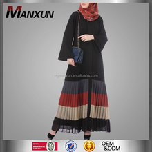 Fashion Designs Muslim Women Casual Abaya High Grade Pleated Kaftan Dress Pakistani Islamic Long Clothing