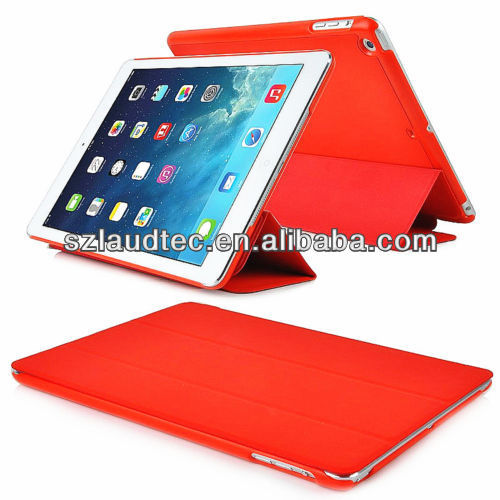GEL/RUBBER CASE WITH SMART COVER FOR IPAD 5 FOR IPAD AIR