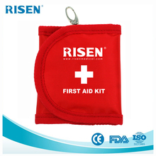 2018 wholesale medical mini pocket outdoor golf travel Promotional portable First Aid bag gift set kit