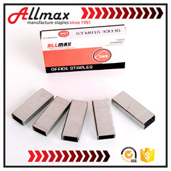 SXHL SGS manufacturer 80 series industrial staple, fence staples u nails,furniture wood staple pins