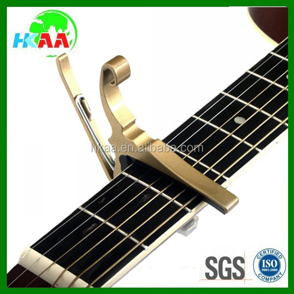 ISO factory custom high quality guitar capo for sale