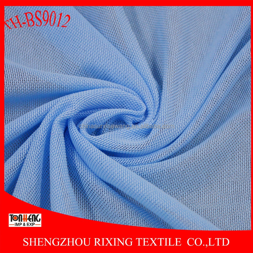 polyester and cotton types of net fabric