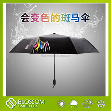 magic color changing umbrella christmas promotional gift