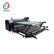 thermal roll to roll heat transfer paper printing press sublimation machine for sport jersey roller fabric heat press machine