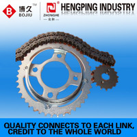 high quality motorcycle chain 530&sprocket manufacturer