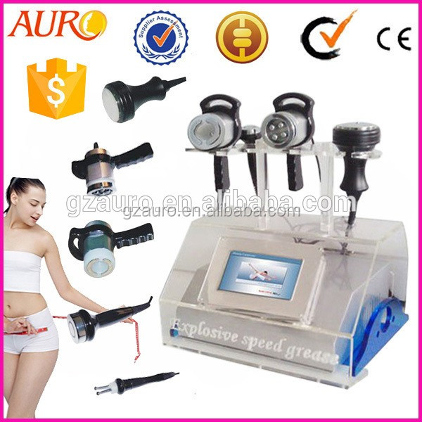 AU-46 Vacuum + Cavitation + RF + Infrared Exilis Machine Hot Sale