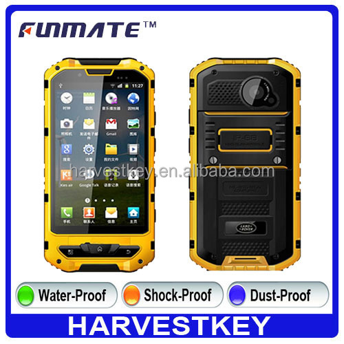 4.3 inch land A2 waterproof rugged mobile phone android 4.1 rover a2 smartphone