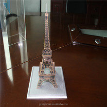 Famous Landmark ,Acrylic Mini Eiffel Tower model for Collection and art