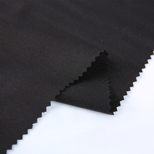 new product textiles black polyester rayon spandex scuba crepe fabric for clothes