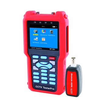NOYAFA Brand ! Audio input and PTZ continuing rotate test CCTV TESTER