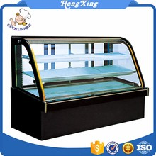 3 Layers Front Open Sliding Door Commercial Electric display cake Refrigerated Showcase
